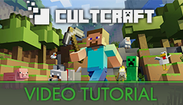 Cultcraft Video Tutorial
